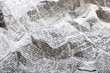 canvas print picture background of old crumpled newspaper
