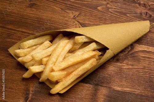 Fotografia, Obraz  Patatine fritte