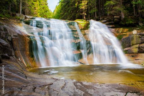 Mumlava waterfall