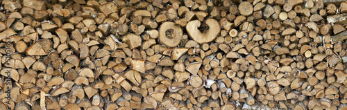 Printed kitchen splashbacks Firewood texture Texture logs