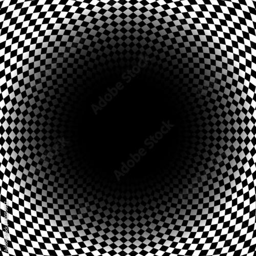 abstrakcjonistyczny-w-kratke-tlo-z-przestrzenia-dla-teksta-w-centrum-vec