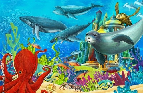 The underwater castle - princess series