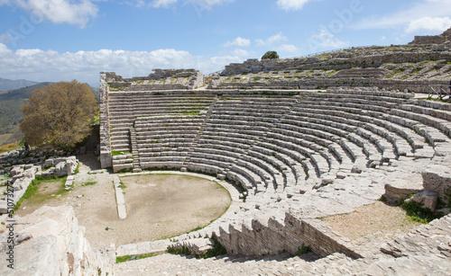 Fotografie, Obraz  Teatro Greco di Segesta_Trapani_Sicilia