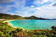 Aharen Beach In Okinawa, Japan