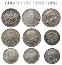 Ancient Silver German Coins