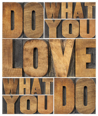 Fototapeta Motywacje do what you love