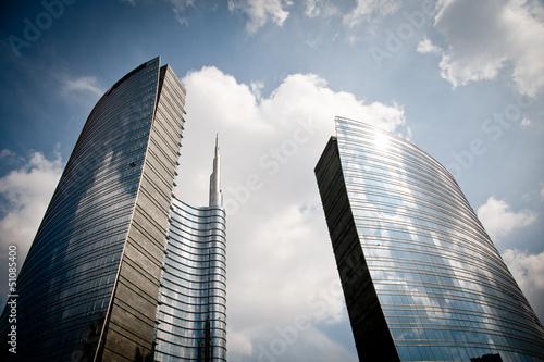 Fotobehang Milan Grattacielo a milano