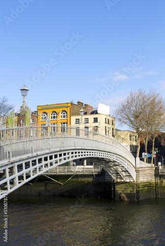 Fotografie, Obraz Hapenny Bridge