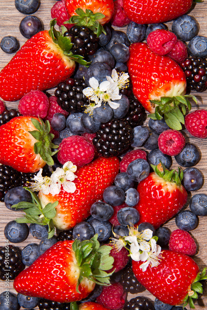 Fototapety, obrazy: Berries