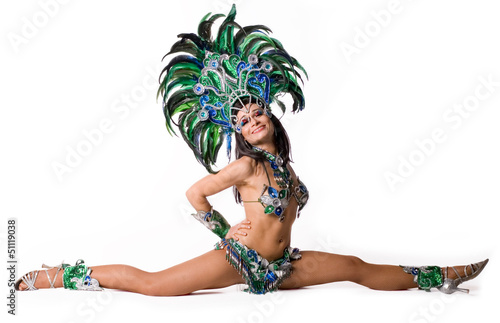 Recess Fitting Carnaval Carnival dancer