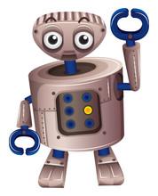 A Brown Robot