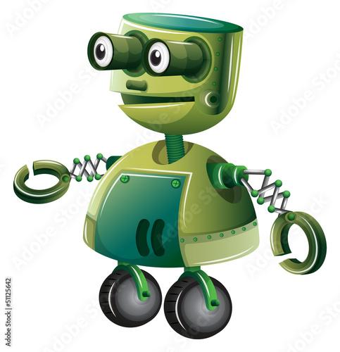 zielony-robot