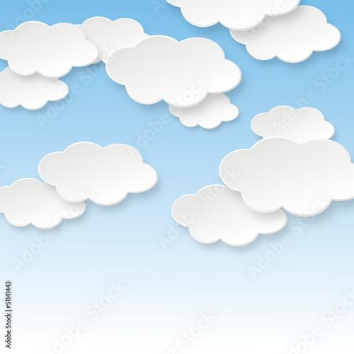 Foto op Plexiglas Hemel Wolken