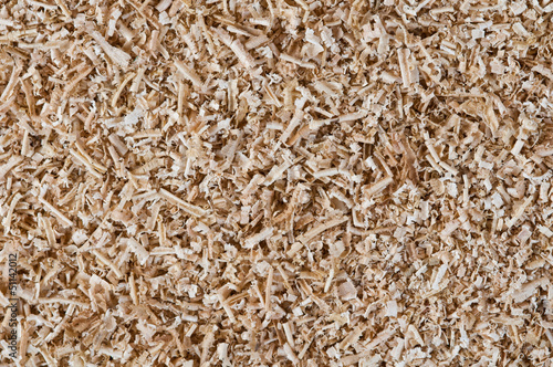 Fotografie, Obraz  abstract background of sawdust close up