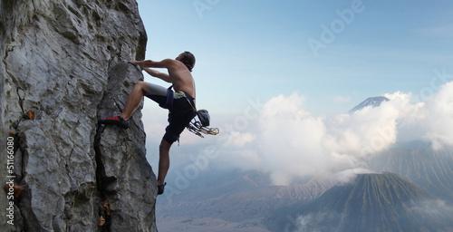 Obraz na płótnie Climber