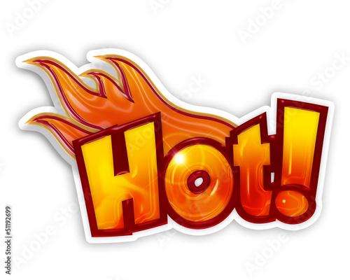 cartoon hot © Paulista