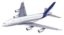 A 380 Passenger Aircraft.