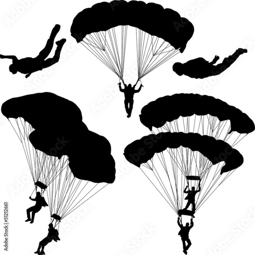 Paratrooper Canvas Print