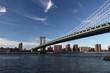 Picture of the manhattan bridge in new york