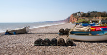 Boats At Budleigh Salterton De...