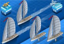 Isometric Sailships In Navigat...