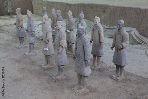 Foto op Plexiglas Xian esercito terracotta xi'an