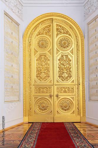 Photo Great Kremlin Palace, doors in Georgievsky hall