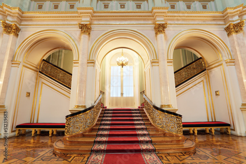 Tela Great Kremlin Palace, small Georgievsky hall