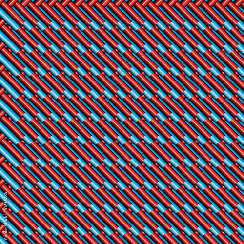Foto op Aluminium ZigZag papier peint texture