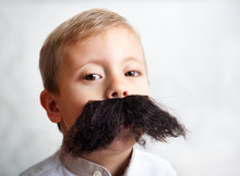 Boy With A Big Mustache