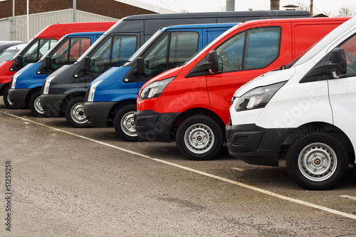 used van sales Canvas Print
