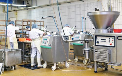 Staande foto Industrial geb. Lebensmittelindustrie // Industrial food production