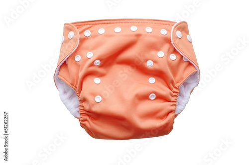 Photographie fabric washable diaper
