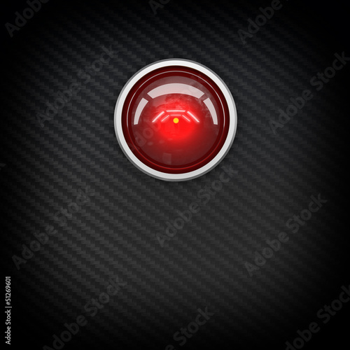 red eye hal Poster