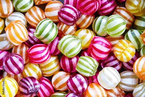 Foto op Aluminium Snoepjes Candy background
