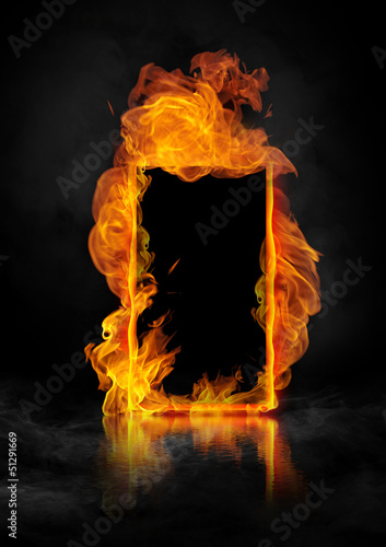 fire_rama1 - fototapety na wymiar