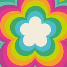 Rainbow Flower Power