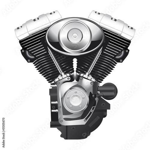 motor de motocicleta Wall mural