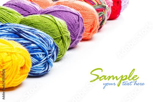 Obraz na plátne Knitting yarn