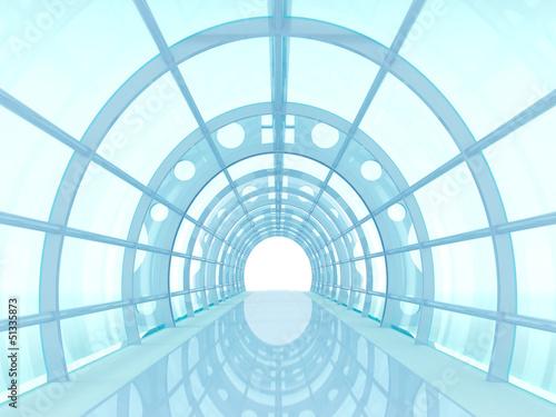 tunel-futurystyczny
