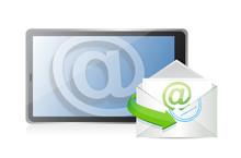 Contact Us Online. Communication Concept