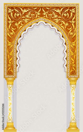 Photo islamic arch design