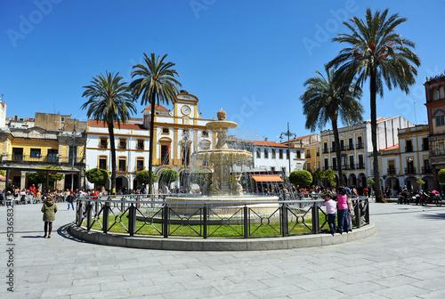 Fototapeta Plaza de España, Mérida