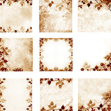 Floral Vintage Leaves And Flowers Backgrounds