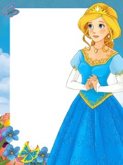 Obraz na płótnie Canvas The fairy - Beautiful Manga Girl - illustration