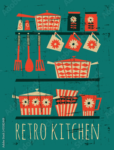plakat-retro-kuchni