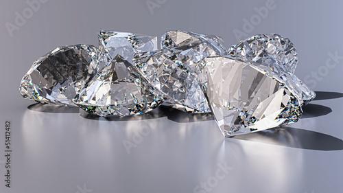 Fotografie, Obraz  Diamonds