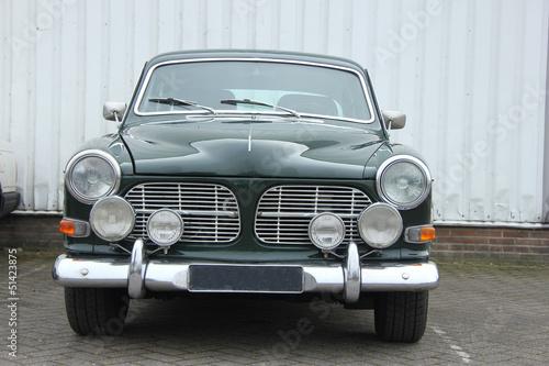 Deurstickers Oude auto s Vintage Swedish car