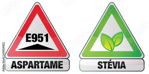 Photo aspartame et stévia