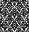 Seamless background in damask style